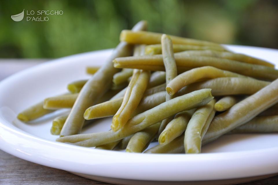 Ricetta fagiolini a vapore al microonde le ricette dello spicchio d 39 aglio - Forno a vapore ricette ...