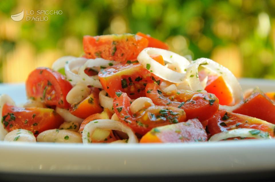 Popolare Ricetta - Fagioli e pomodori in insalata - Le ricette dello  WT69