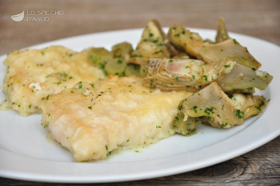 ricetta - filetti di merluzzo ai carciofi - le ricette dello ... - Cucinare Filetto Di Merluzzo