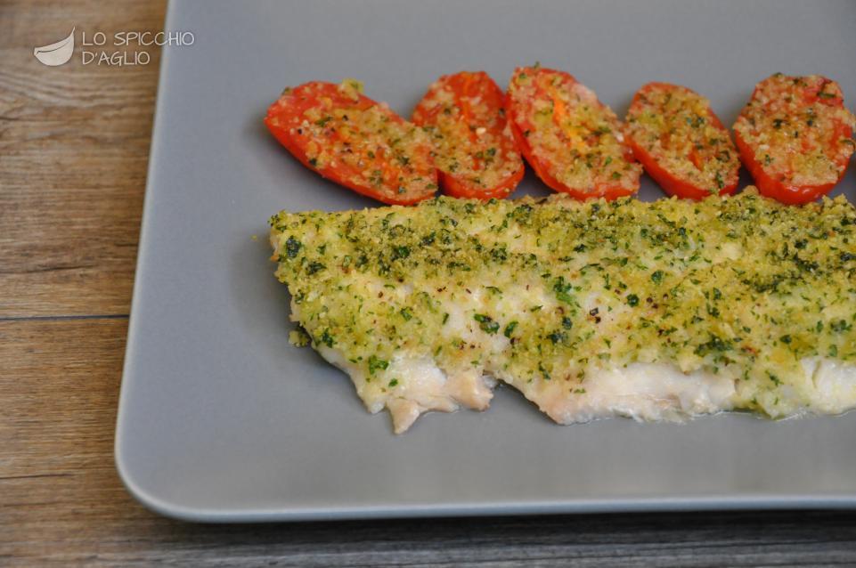 Ricetta - Filetto di scorfano con pomodorini al forno - Le ricette ...