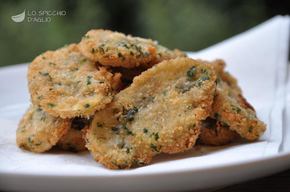 Super Ricetta - Funghi fritti - Le ricette dello spicchio d'aglio ED55