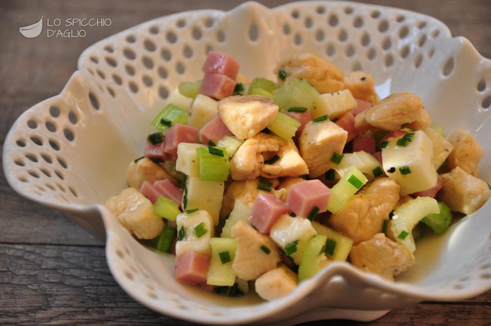 dieta insalata di pollo