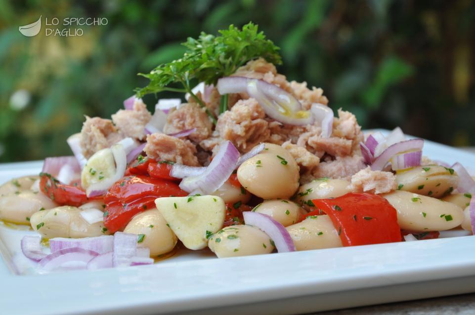Conosciuto Ricetta - Insalata tonno, fagioli e peperoni - Le ricette dello  GF29