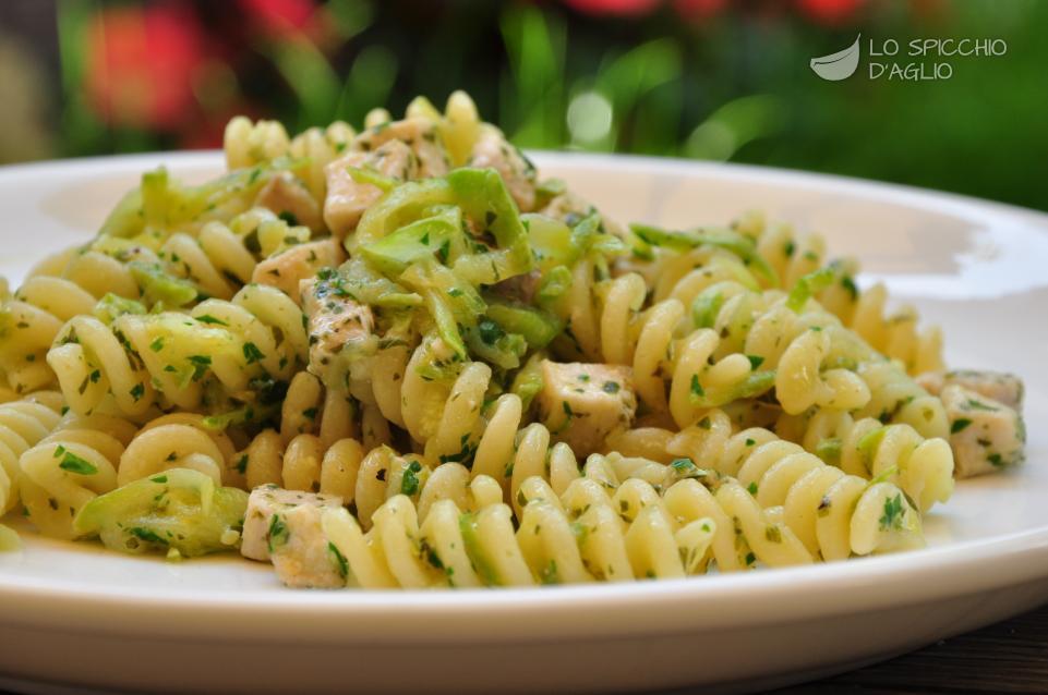 Ricetta Pasta Con Pesce Spada E Zucchine Le Ricette Dello