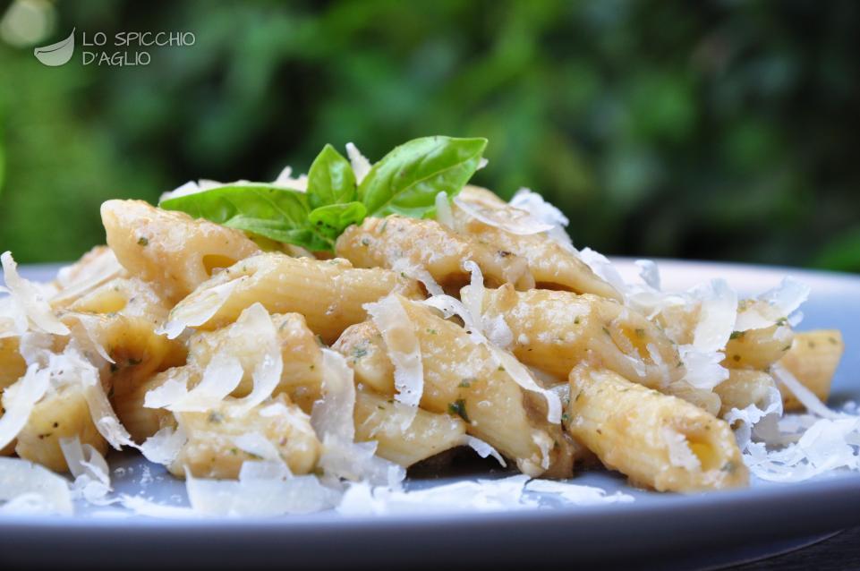 Ricette pasta alle melanzane in bianco