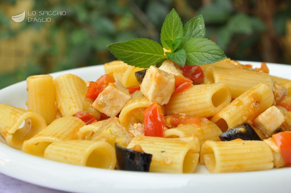 Ricetta Pasta Pesce Spada E Melanzane Le Ricette Dello Spicchio