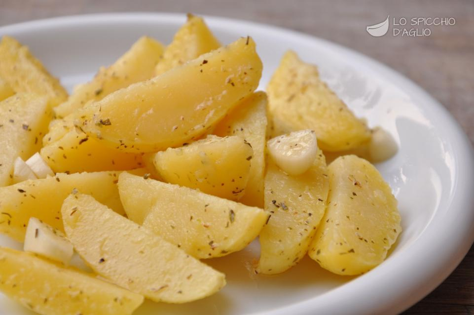 Patate all'aceto