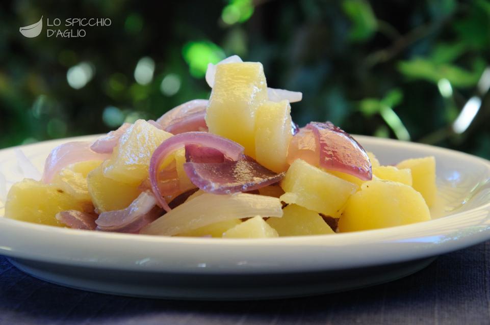 Patate e cipolle al vapore
