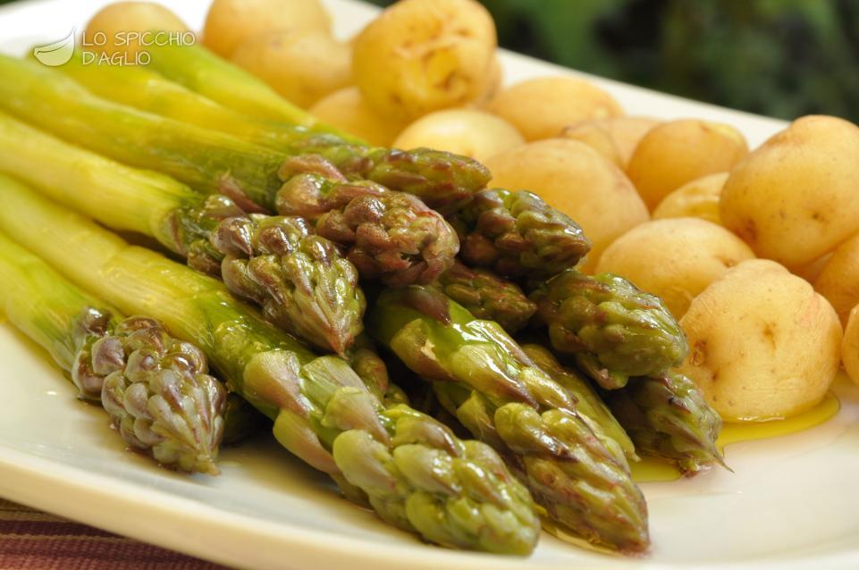Ricetta asparagi e patate novelle al vapore le ricette - Cucina a vapore ricette ...