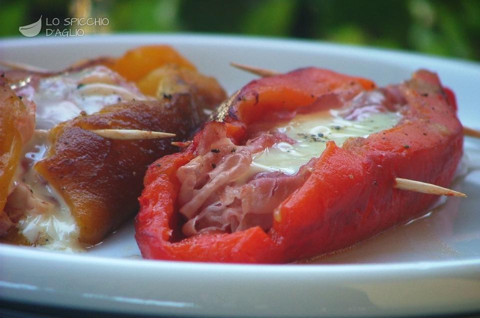 Ricetta barchette di peperone cotto e sottiletta le - Secondi piatti da cucinare in anticipo ...