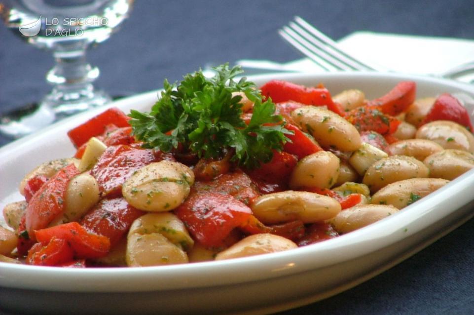 Famoso Ricetta - Insalata di peperoni e fagioli - Le ricette dello  ML95