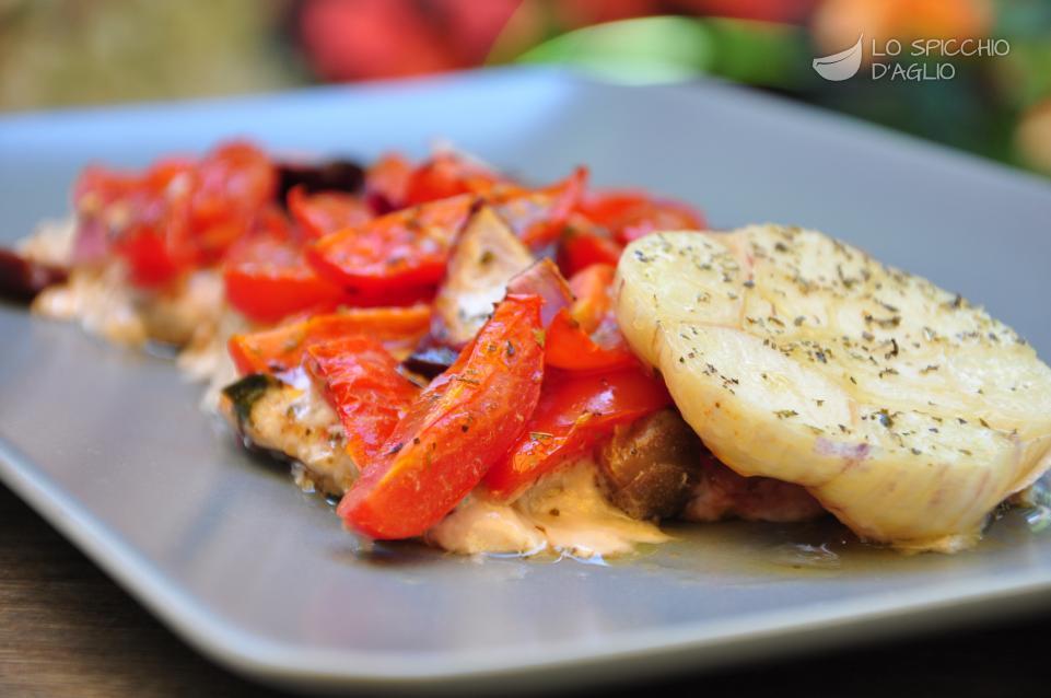 Ricetta Pesce Spada Al Forno Con Pomodori E Olive Le Ricette