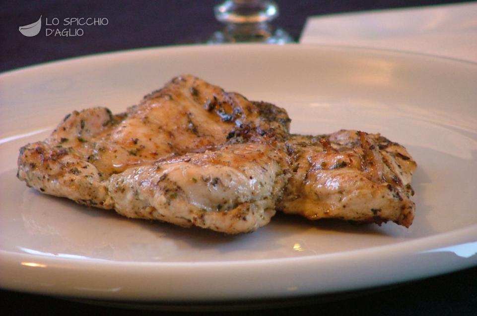 come preparare una dieta di pollo alla griglia