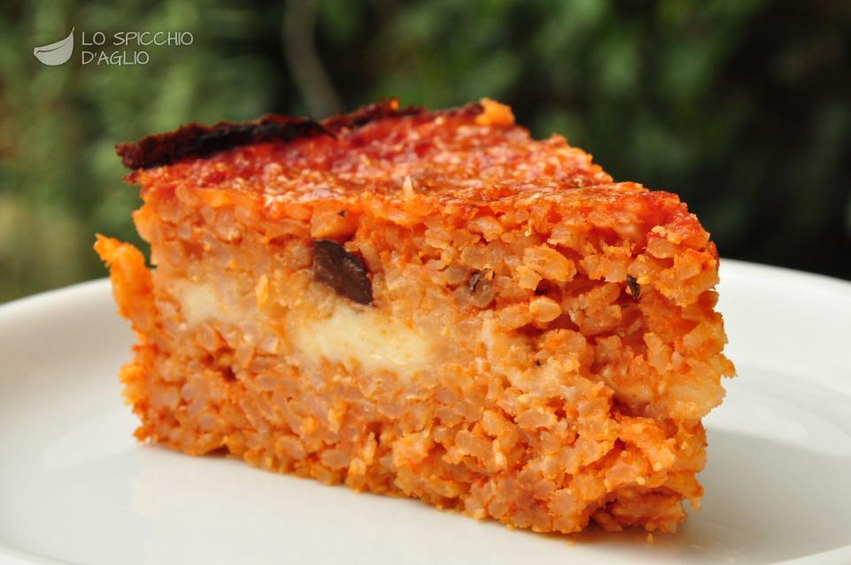 Ricetta torta rustica leggera