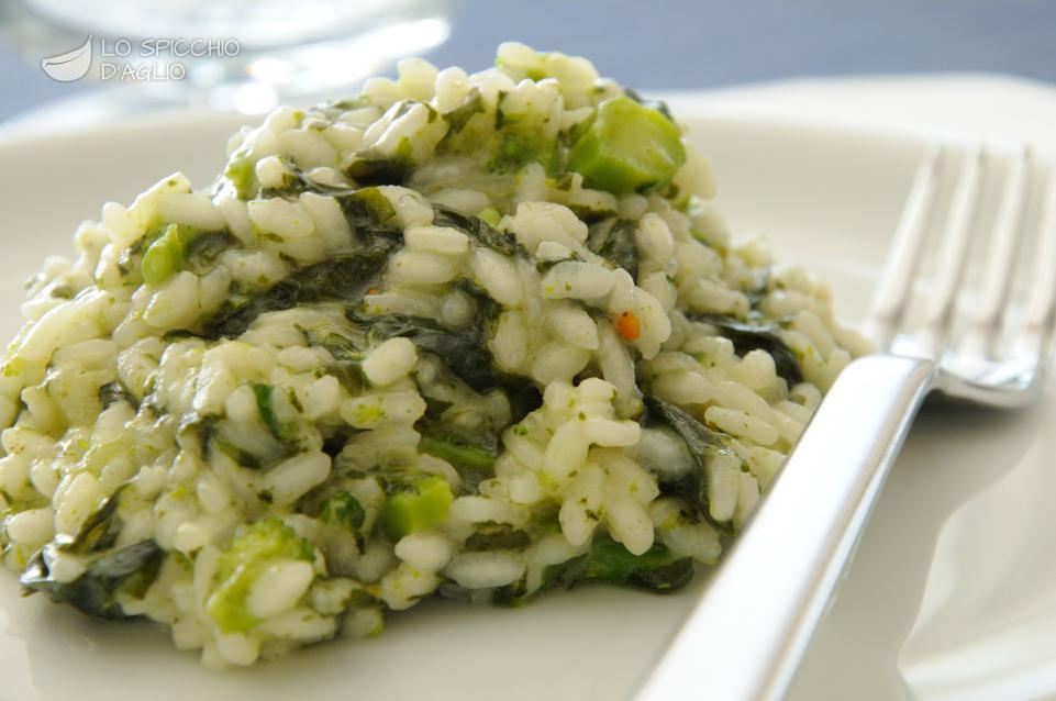 Ricetta risotto alle cime di rapa le ricette dello for Risotto ricette