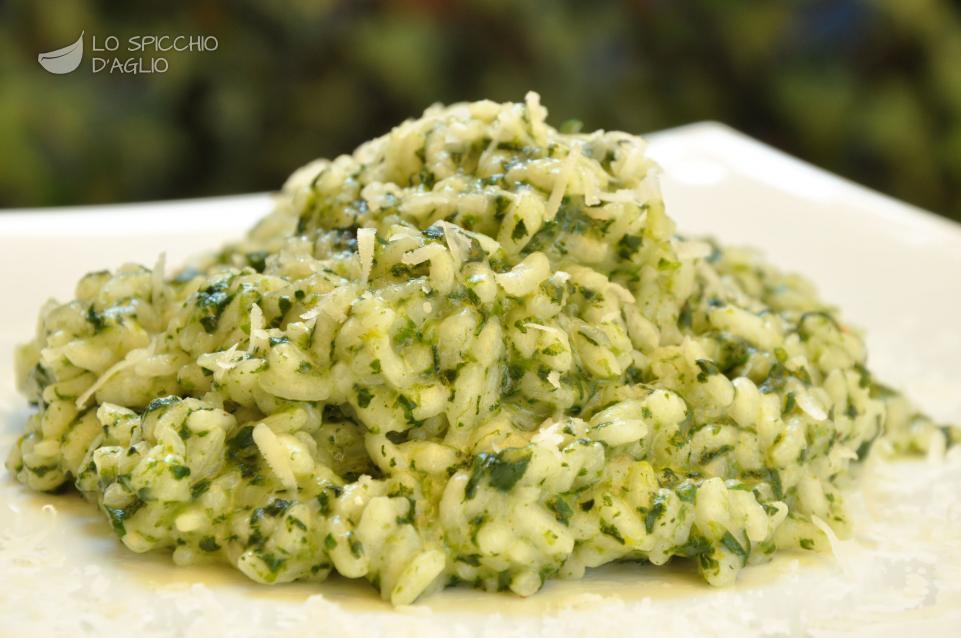 Ricetta - Risotto agli spinaci - Le ricette dello spicchio d'aglio