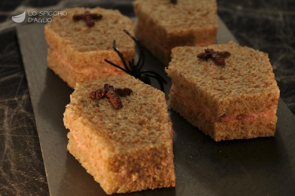 Secondi Piatti Di Carne Per Halloween.Sandwich Bare Di Halloween