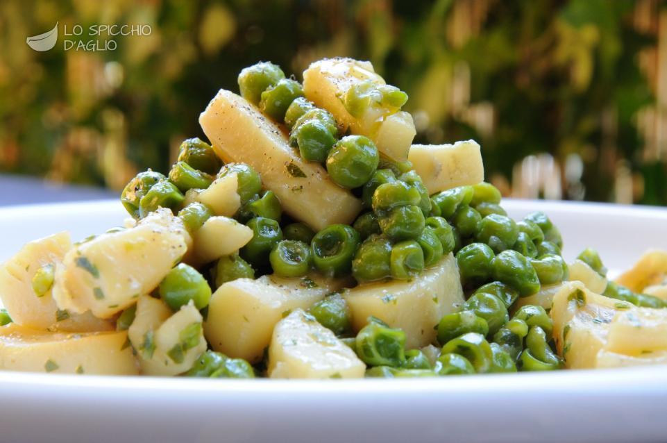 ricetta - seppie ai piselli - le ricette dello spicchio d'aglio - Come Cucinare Seppie E Piselli