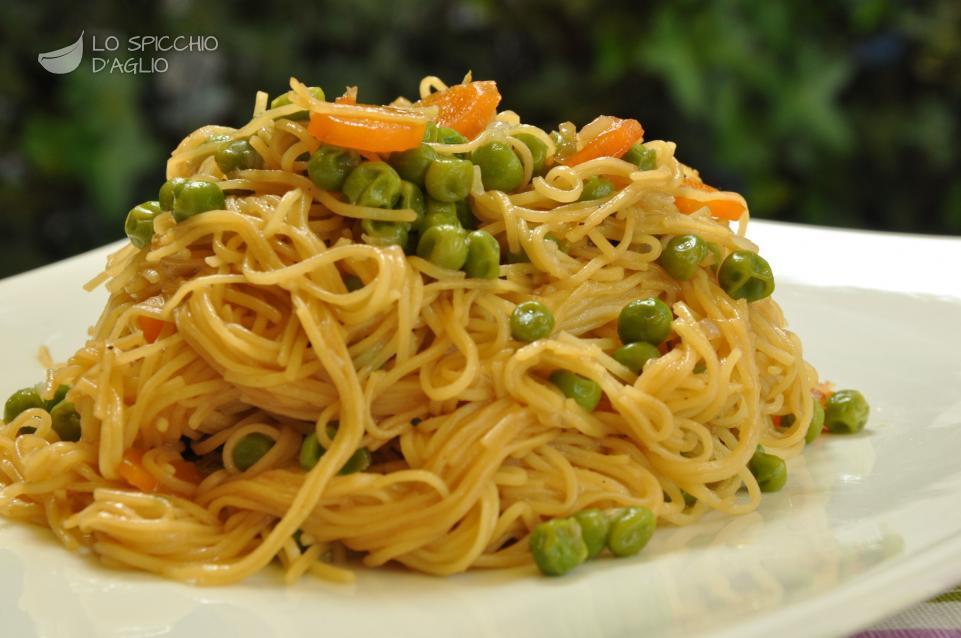 Ricetta tagliolini alla cinese le ricette dello for Ricette cinesi
