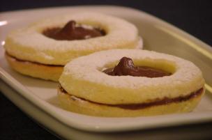 Biscotti di pasta frolla alla Nutella