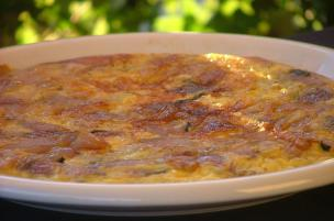 Frittata alle cipolle