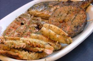 Grigliata di pesce aromatica