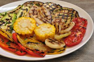 Grigliata di verdure d'estate