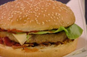 Hamburger al bacon