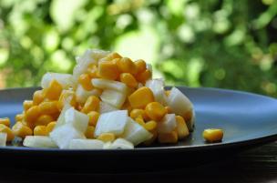 Insalatina di mais e finocchio
