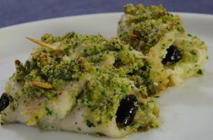 Platesse arrotolate alle olive