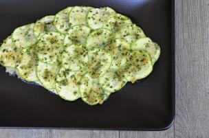 Rombo gratinato con zucchine