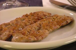 Salsiccia alla piastra