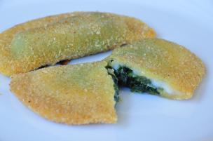 Sofficini fatti in casa spinaci e mozzarella