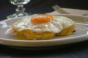 Tortini di patate, uova e formaggio