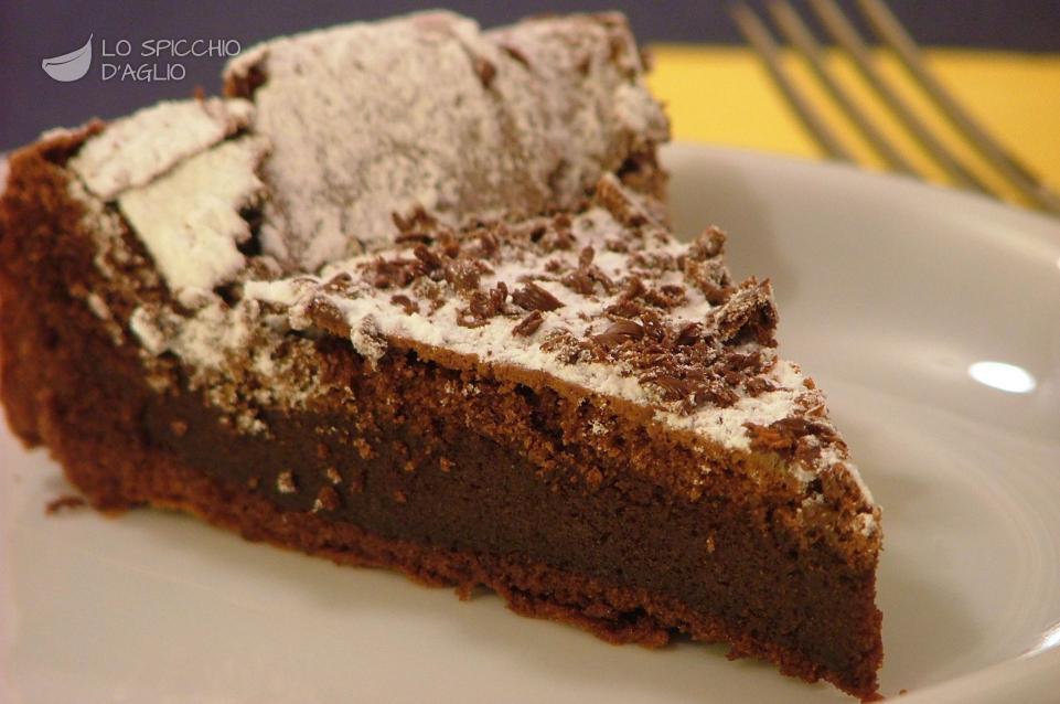 Ricetta torta con il cioccolato fuso