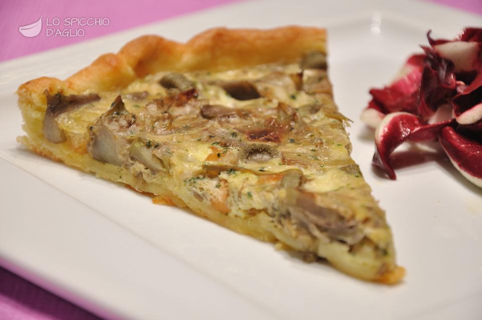 Ricetta torta salata ai carciofi le ricette dello for Ricette con carciofi