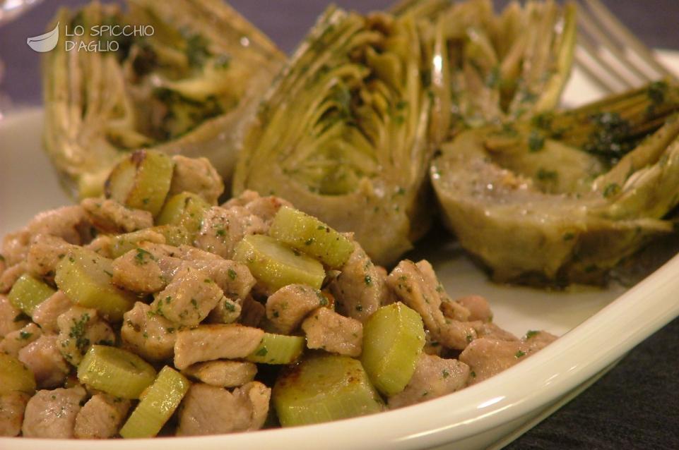 Ricetta vitello ai carciofi le ricette dello spicchio for Secondi piatti ricette