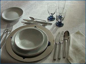 Cucina e dintorni come apparecchiare la tavola la - Apparecchiare una tavola elegante ...